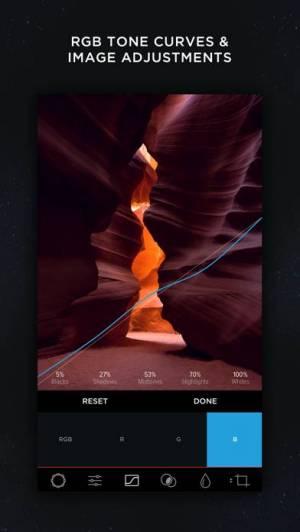 iPhone、iPadアプリ「MuseCam - Photo Editor」のスクリーンショット 3枚目