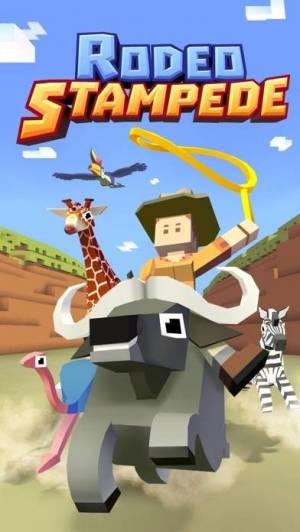 iPhone、iPadアプリ「Rodeo Stampede: Sky Zoo Safari」のスクリーンショット 5枚目