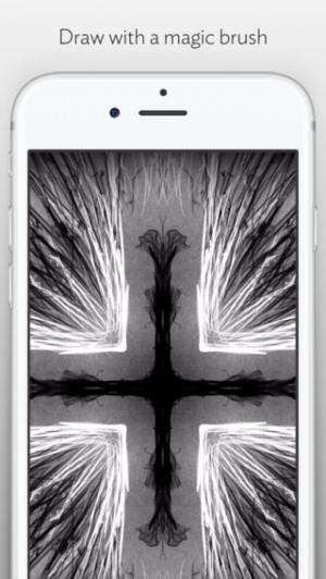 iPhone、iPadアプリ「Silk 2 – Interactive Generative Art」のスクリーンショット 4枚目