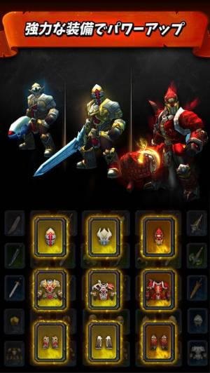 iPhone、iPadアプリ「タップの戦士: ジャンプ攻撃(Tap Tap Warriors: Nonstop Jump RPG)」のスクリーンショット 4枚目