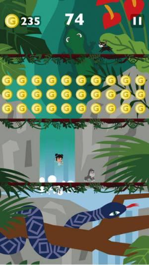 iPhone、iPadアプリ「ジャンプジャンプ・キャット 猫ゲーム無料」のスクリーンショット 4枚目
