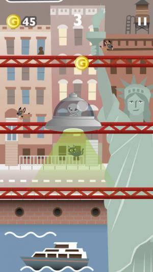 iPhone、iPadアプリ「ジャンプジャンプ・キャット 猫ゲーム無料」のスクリーンショット 5枚目