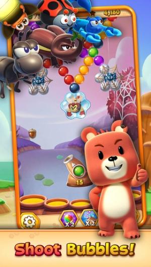 iPhone、iPadアプリ「Buggle 2 - Bubble Shooter」のスクリーンショット 4枚目