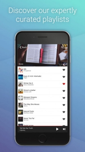 iPhone、iPadアプリ「Hillydilly - Free Music Discovery」のスクリーンショット 5枚目