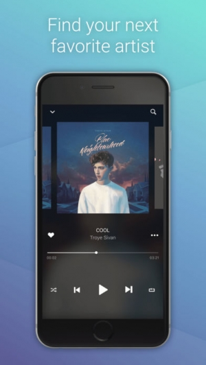 iPhone、iPadアプリ「Hillydilly - Free Music Discovery」のスクリーンショット 2枚目