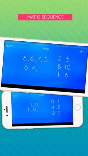 iPhone、iPadアプリ「IQ Test & IQ challenge: What's my IQ?」のスクリーンショット 1枚目