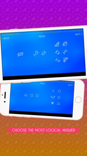 iPhone、iPadアプリ「IQ Test & IQ challenge: What's my IQ?」のスクリーンショット 4枚目