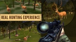iPhone、iPadアプリ「シカのハンターの狙撃兵キラー 2016 - 動物のスナイパー狩りゲーム」のスクリーンショット 1枚目