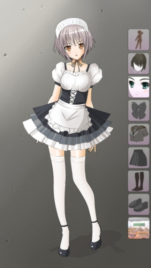 iPhone、iPadアプリ「Dress Up Maid」のスクリーンショット 4枚目