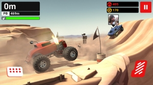 iPhone、iPadアプリ「MMX Hill Climb — Off-Road Racing With Friends」のスクリーンショット 1枚目