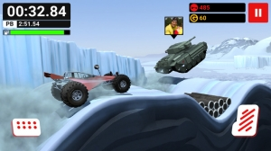 iPhone、iPadアプリ「MMX Hill Climb — Off-Road Racing With Friends」のスクリーンショット 3枚目