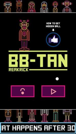 iPhone、iPadアプリ「BBTAN by 111%」のスクリーンショット 1枚目