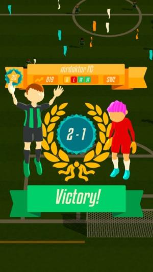 iPhone、iPadアプリ「Solid Soccer」のスクリーンショット 5枚目