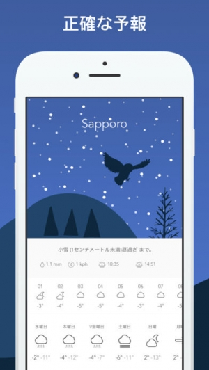 iPhone、iPadアプリ「Wild Weather」のスクリーンショット 2枚目