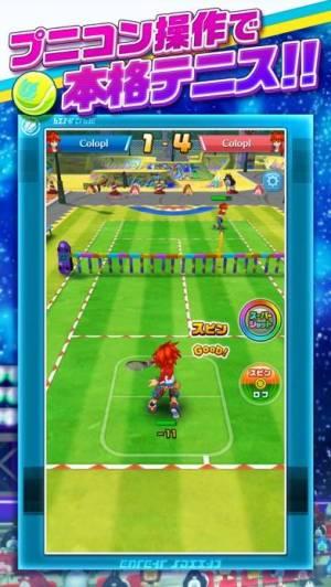iPhone、iPadアプリ「白猫テニス」のスクリーンショット 2枚目