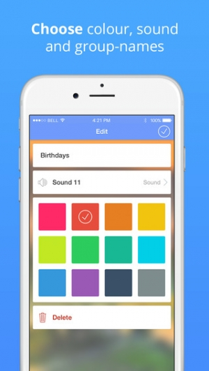 iPhone、iPadアプリ「Reminders: photo to-do list & task notification」のスクリーンショット 4枚目
