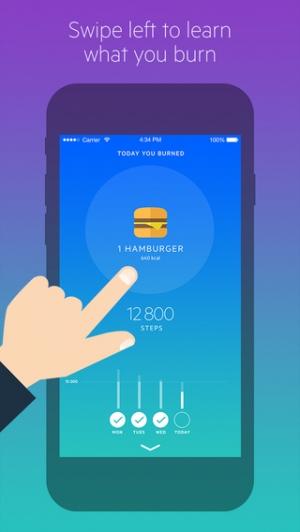 iPhone、iPadアプリ「Movesum - Step counter by Lifesum」のスクリーンショット 2枚目