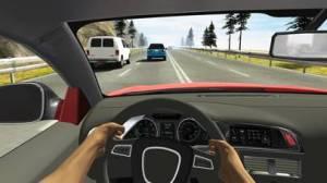iPhone、iPadアプリ「Racing in Car」のスクリーンショット 1枚目