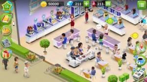 iPhone、iPadアプリ「マイカフェ — レストランゲーム」のスクリーンショット 1枚目
