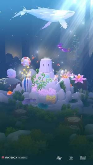 iPhone、iPadアプリ「アビスリウム - タップで育つ水族館」のスクリーンショット 4枚目