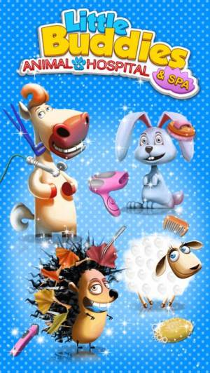 iPhone、iPadアプリ「Little Buddies Animal Hospital 2 - Pet Dentist, Doctor Care & Spa Makeover」のスクリーンショット 5枚目