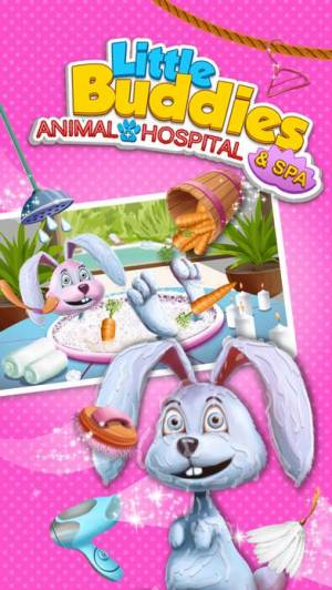 iPhone、iPadアプリ「Little Buddies Animal Hospital 2 - Pet Dentist, Doctor Care & Spa Makeover」のスクリーンショット 4枚目