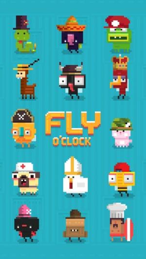 iPhone、iPadアプリ「Fly O'Clock - Endless Jumper Survival」のスクリーンショット 3枚目