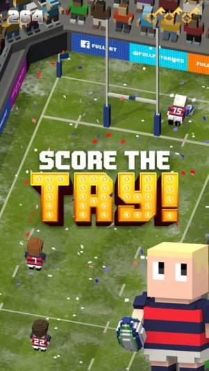 iPhone、iPadアプリ「Blocky Rugby」のスクリーンショット 3枚目