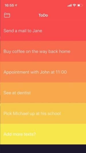 iPhone、iPadアプリ「Task.do − タスク管理ができるTo-Doリスト」のスクリーンショット 4枚目