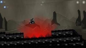 iPhone、iPadアプリ「ATV Shadow Race」のスクリーンショット 1枚目