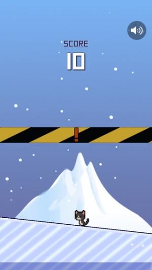 iPhone、iPadアプリ「激ムズ!ねことつるりん氷山」のスクリーンショット 3枚目