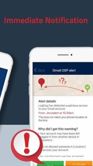 iPhone、iPadアプリ「LogDog - モバイルセキュリティ」のスクリーンショット 4枚目