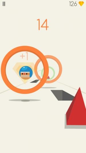 iPhone、iPadアプリ「Jumping Balls!」のスクリーンショット 2枚目