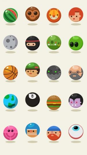 iPhone、iPadアプリ「Jumping Balls!」のスクリーンショット 4枚目
