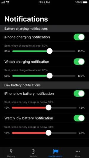 iPhone、iPadアプリ「バッテリー・ライフ (Battery Life)」のスクリーンショット 5枚目