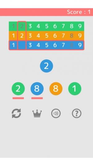 iPhone、iPadアプリ「色と数字のIQパズル - Number or Color」のスクリーンショット 5枚目