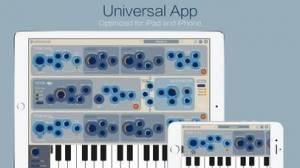 iPhone、iPadアプリ「Mersenne Synthesizer」のスクリーンショット 1枚目