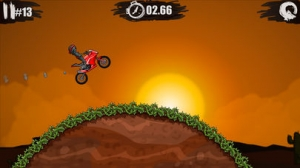 iPhone、iPadアプリ「Moto X3M Bike Race Game」のスクリーンショット 5枚目