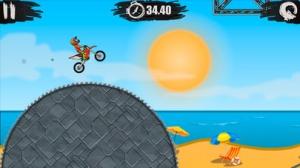 iPhone、iPadアプリ「Moto X3M Bike Race Game」のスクリーンショット 1枚目
