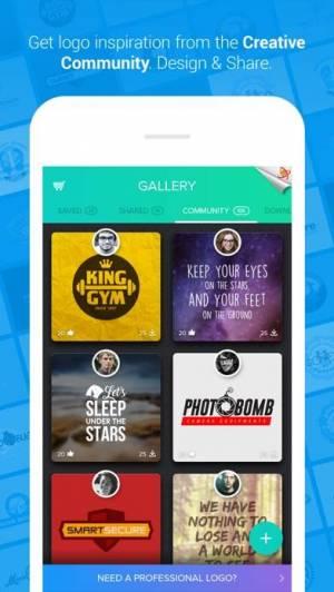 iPhone、iPadアプリ「Logo Maker - Logo Foundry」のスクリーンショット 4枚目