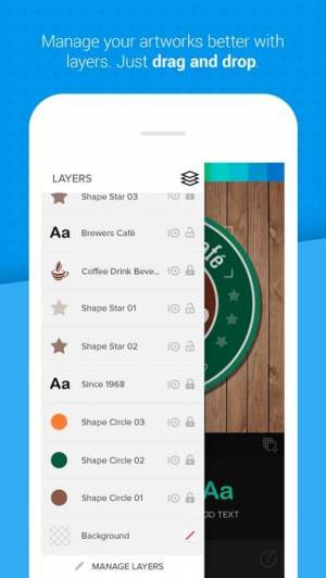 iPhone、iPadアプリ「Logo Maker - Logo Foundry」のスクリーンショット 5枚目