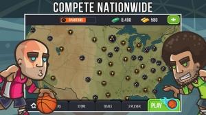 iPhone、iPadアプリ「Basketball Battle - Arcade Hoops Game (Full Court)」のスクリーンショット 4枚目