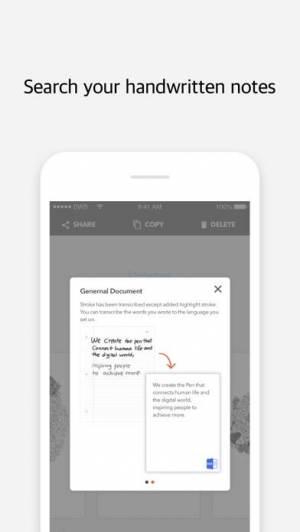 iPhone、iPadアプリ「Moleskine Notes」のスクリーンショット 4枚目