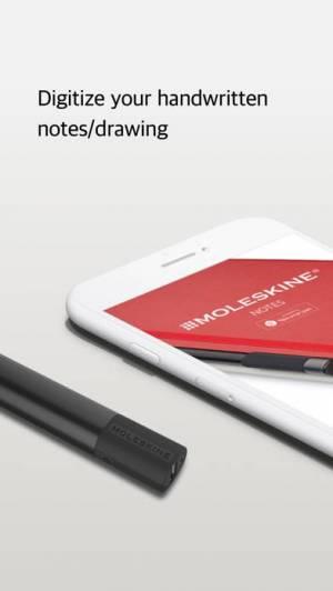 iPhone、iPadアプリ「Moleskine Notes」のスクリーンショット 1枚目