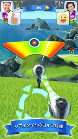 iPhone、iPadアプリ「ゴルフクラッシュ」のスクリーンショット 1枚目