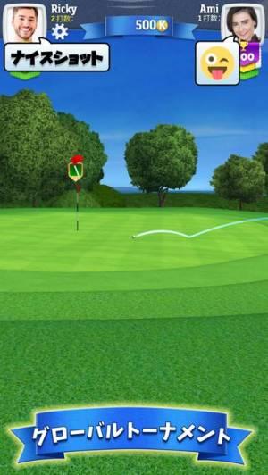 iPhone、iPadアプリ「ゴルフクラッシュ」のスクリーンショット 3枚目