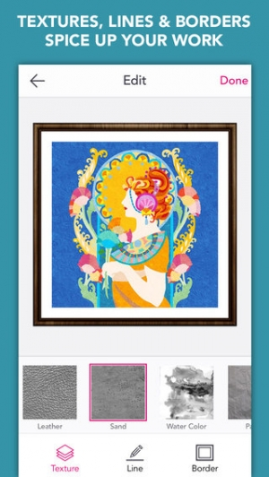 iPhone、iPadアプリ「Colory: Adult Coloring Book for Free」のスクリーンショット 5枚目
