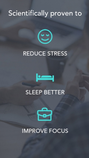 iPhone、iPadアプリ「Simple Habit - Mindfulness Meditations for Your Busy Life and Stress Relief」のスクリーンショット 4枚目
