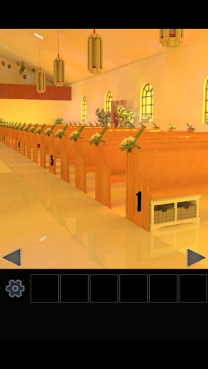 iPhone、iPadアプリ「脱出ゲーム 結婚式場からの脱出」のスクリーンショット 2枚目
