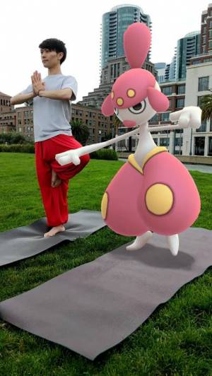 iPhone、iPadアプリ「Pokémon GO」のスクリーンショット 1枚目